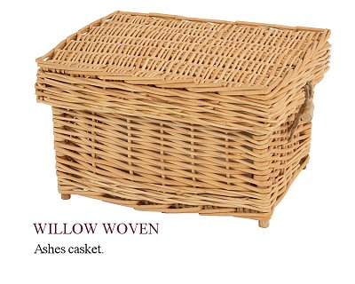 Willow ashes casket