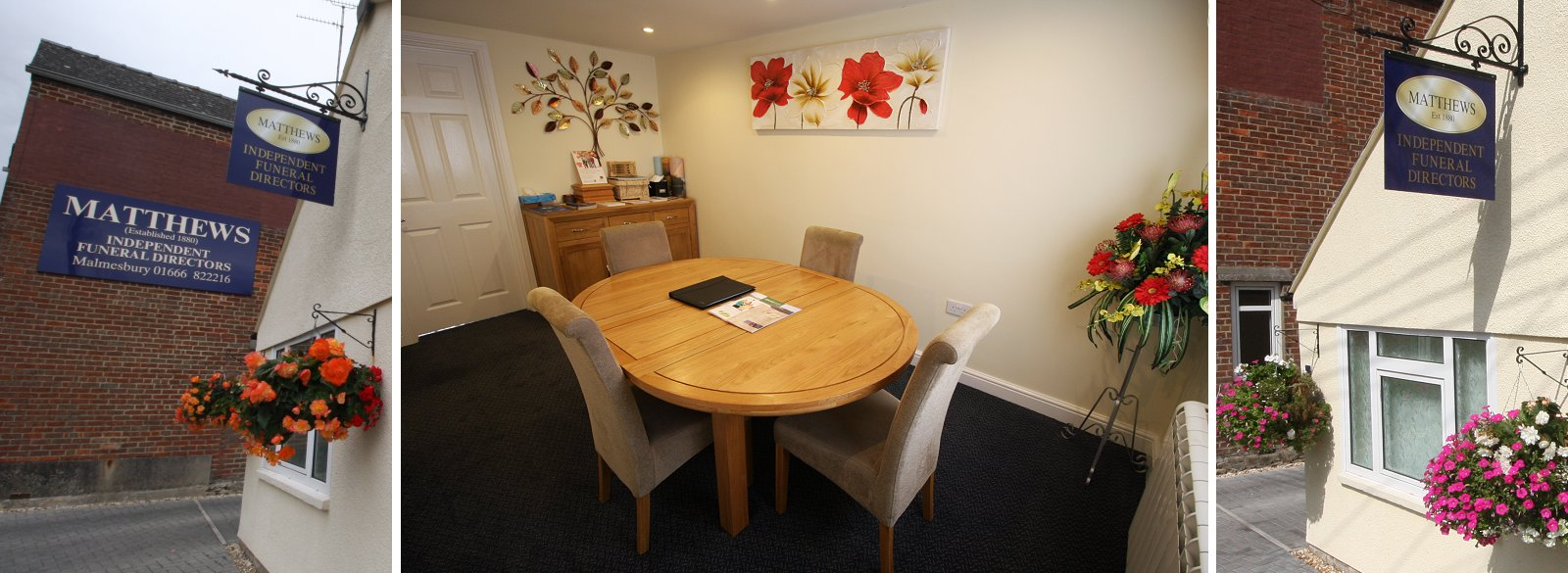 Our meeting room - Matthews of Malmesbury Funeral Directors